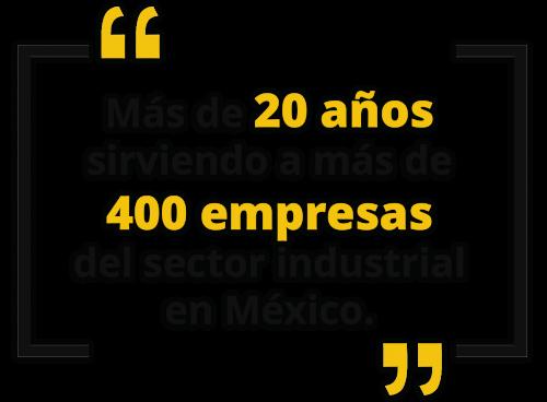 SIRVIENDO MAS DE 400 EMPRESAS 2